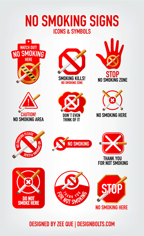 Thanks-you-for-No-Smoking-signs-icons-symbols-Vector-ai-eps-01