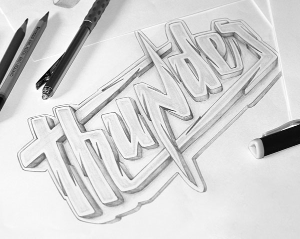 Thunder-logo-sketch