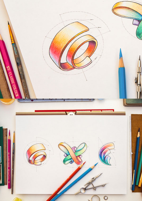 colorful-Logo-sketch