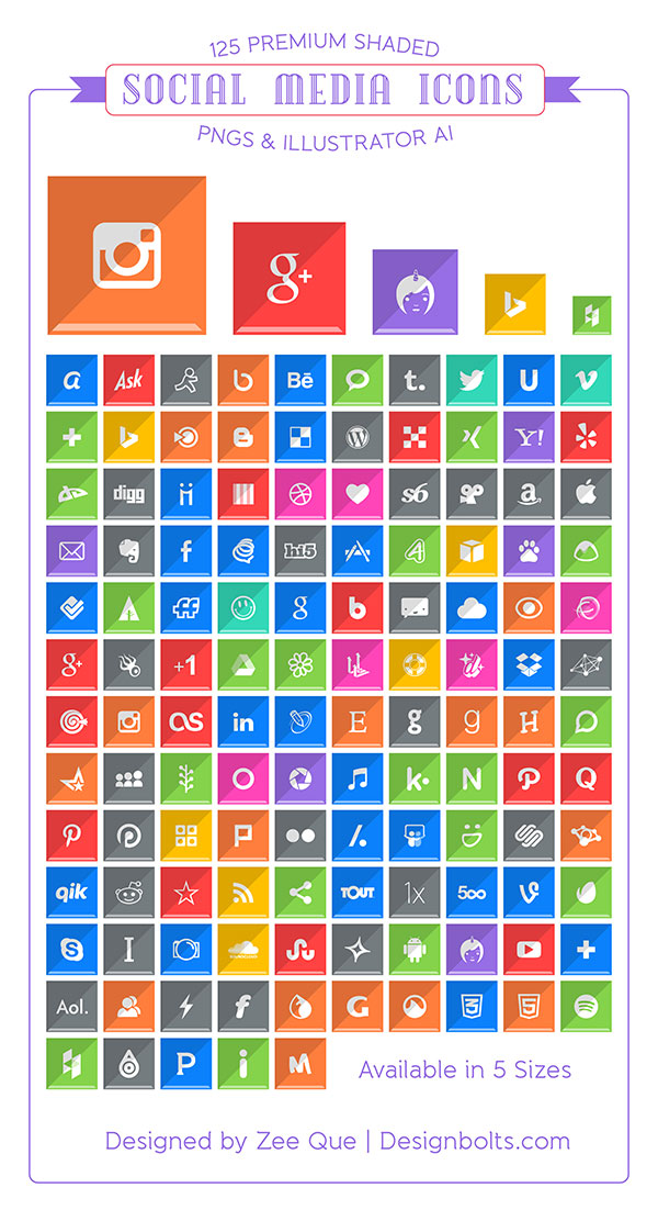 125-Free-Premium-Shaded-Social-Media-Networking-Icons-Buttons-2014