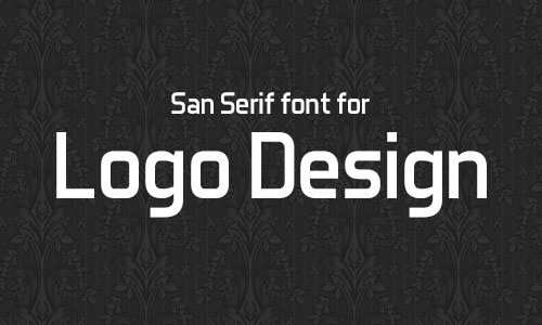 Aero Matics san serif font for logo 15 Best & Beautiful Free Fonts for Logo Design 2014
