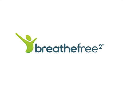 Breathe-Free-logo-design