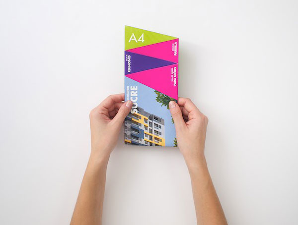 Brochure design for real estate company 11 20 Best Examples of Brochure Design Projects for Inspiration
