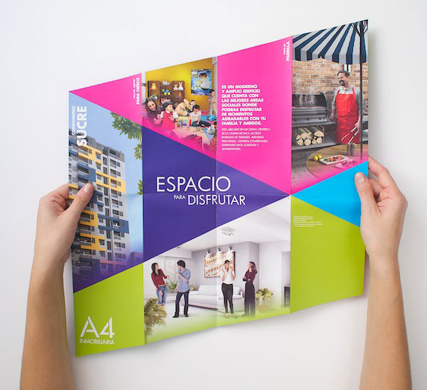Brochure design for real estate company 41 20 Best Examples of Brochure Design Projects for Inspiration