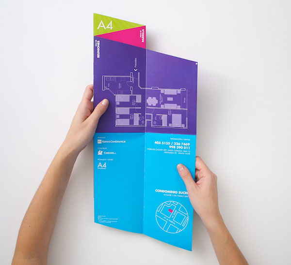 Brochure design for real estate company 51 20 Best Examples of Brochure Design Projects for Inspiration