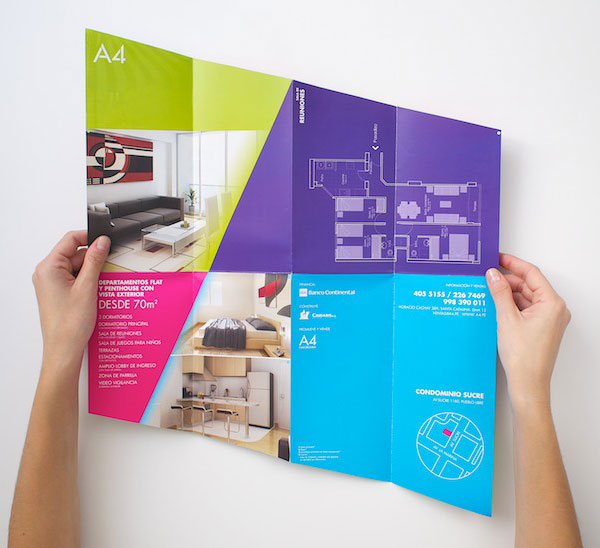 Brochure design for real estate company 71 20 Best Examples of Brochure Design Projects for Inspiration