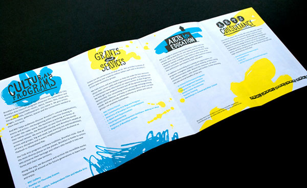 Brooklyn Arts Council Brochure design 3 20 Best Examples of Brochure Design Projects for Inspiration