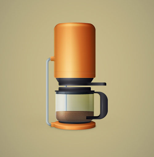 Coffee-Maker-Illustration-Illustrator-Tutorial-for-intermediate