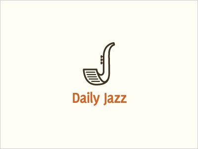 Daily-Jazz-Logo-Design