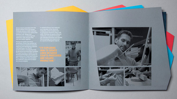 Designers in residence brochure design 3 20 Best Examples of Brochure Design Projects for Inspiration