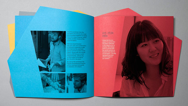 Designers in residence brochure design 4 20 Best Examples of Brochure Design Projects for Inspiration