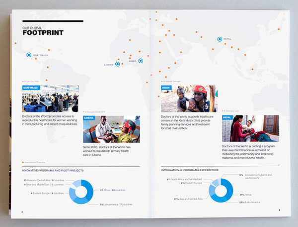 Doctors of the World Brochure design 4 20 Best Examples of Brochure Design Projects for Inspiration