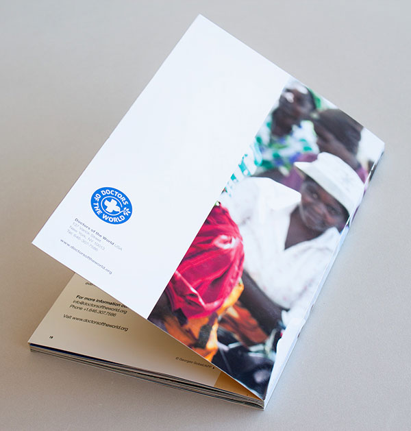 Doctors of the World Brochure design 7 20 Best Examples of Brochure Design Projects for Inspiration