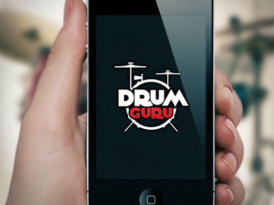 Drum-Guru-musical-logo
