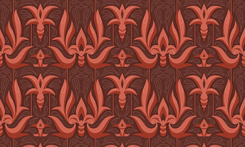 Egyptian-style-seamless-pattern