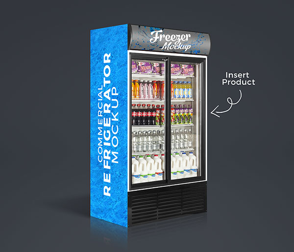 Free-Commercial-Refrigerator,-Cooler---Freezer-Mockup-PSD-with-Product-Insertion-5