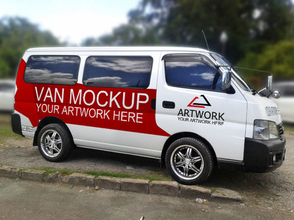 Free-Van-Mockup-Psd