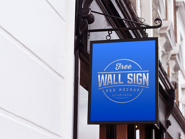Free-Wall-Mounted-Classic-Sign-Mockup-PSD-4