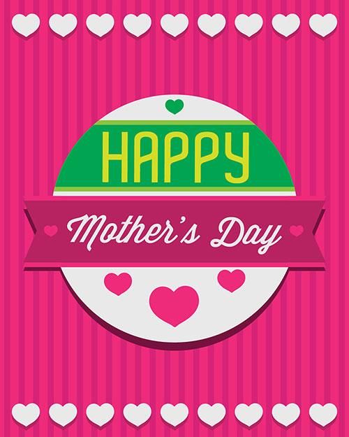Free printable mothers day greeting card اجمل واجمد بوستات عيد الام 2015 2016