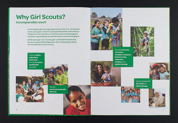 Girl Scouts Brochure design 3 20 Best Examples of Brochure Design Projects for Inspiration