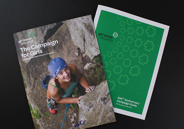 Girl Scouts Brochure design 20 Best Examples of Brochure Design Projects for Inspiration