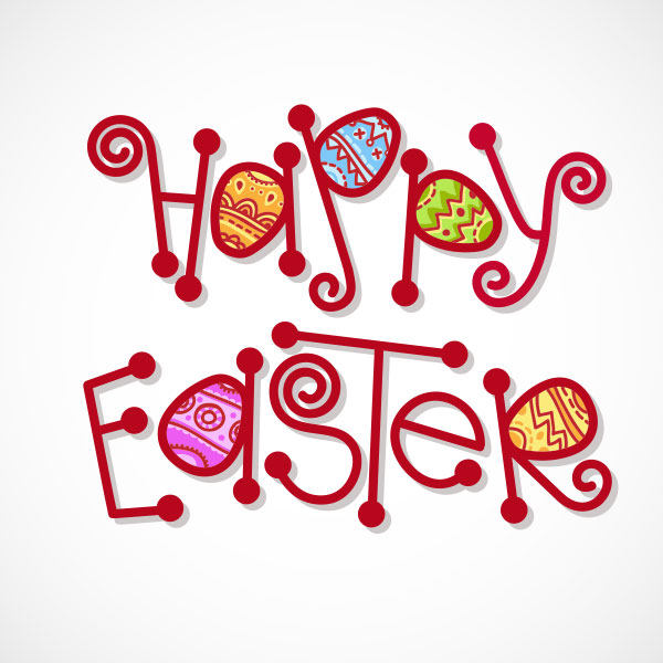 Happy-Easter-Typography