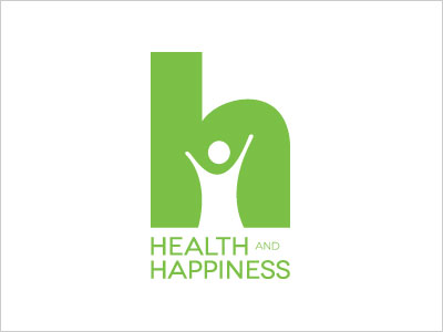 Health-and-Happiness-logo-design