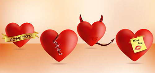 Heart-Icons-Illustrator--CS6-Tutorial