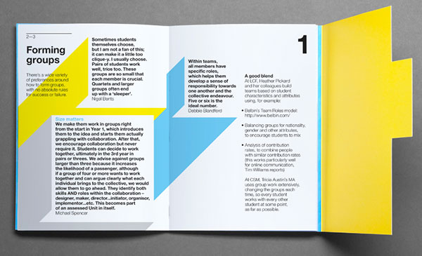 Learning Teaching Brochure design ideas 3 20 Best Examples of Brochure Design Projects for Inspiration