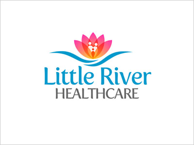 Little-River-Healthcare-logo-design