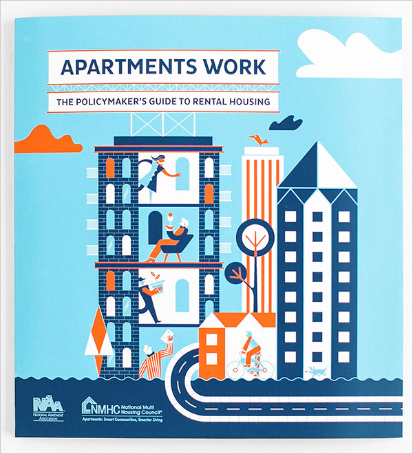 National Multi Housing Council Brochure design example 20 Best Examples of Brochure Design Projects for Inspiration