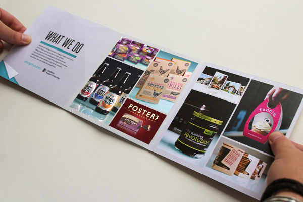 Packaging brochure design 2 20 Best Examples of Brochure Design Projects for Inspiration