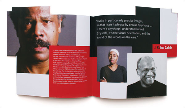 Pew Center for Arts Heritage Brochure design 4 20 Best Examples of Brochure Design Projects for Inspiration