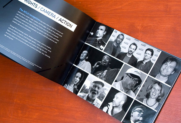 Rights Camera Action brochure design example 4 20 Best Examples of Brochure Design Projects for Inspiration