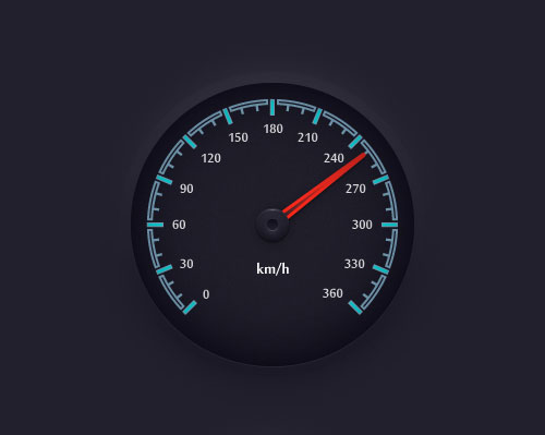 Speedometer-easy-Illustrator-tutorial