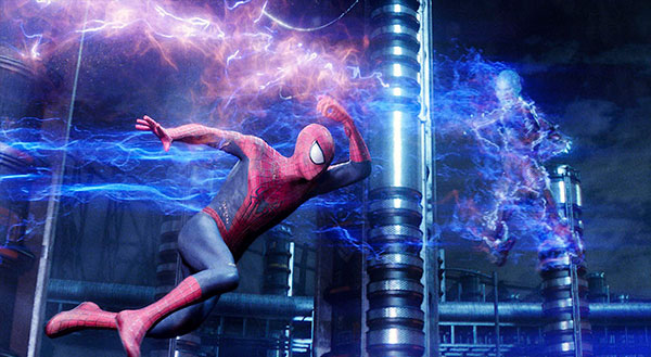 Spider-man-2_&_Electro_Fighting_Wallpaper