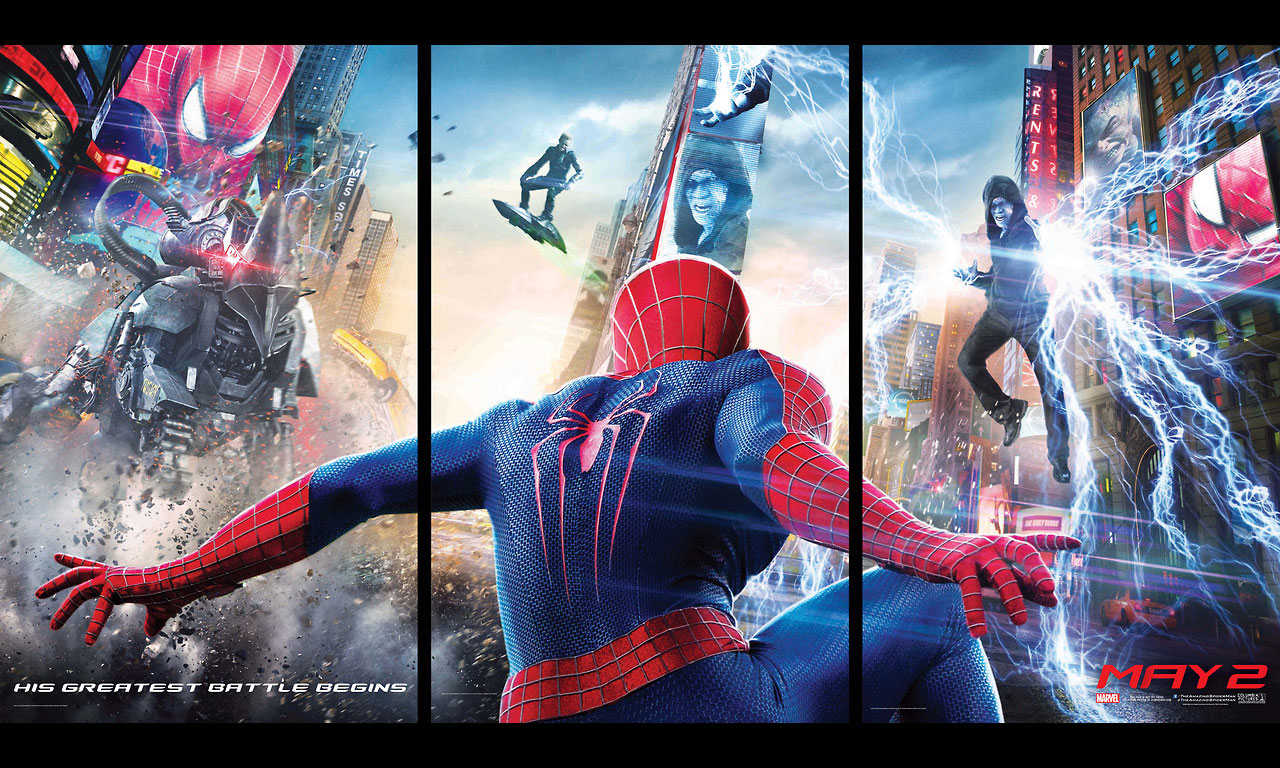 The Amazing Spider Man 2 HD Wallpaper New