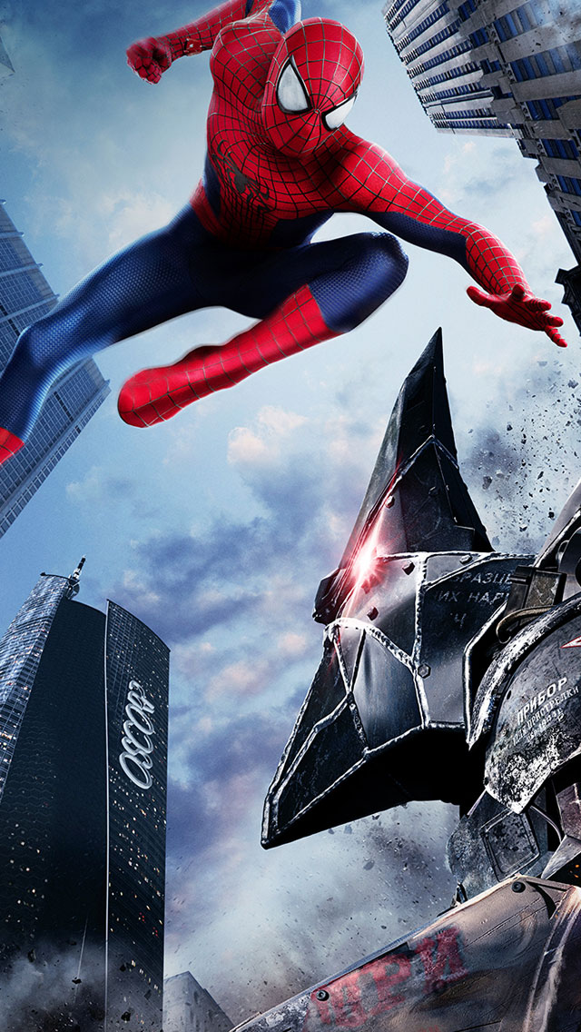 The-Amazing-Spider-Man-2-iPhone-5s-Wallpaper