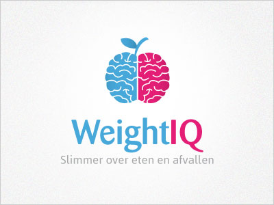 Weightiq-healthy-lifestyle-logo-design
