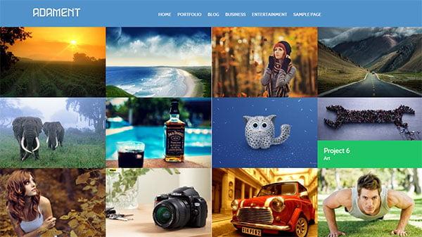 adament-free-portfolio-responsive-wp-theme-2014