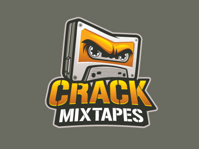 crack_mixtapes-logo-design