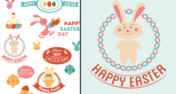 vector-Happy-easter-Day