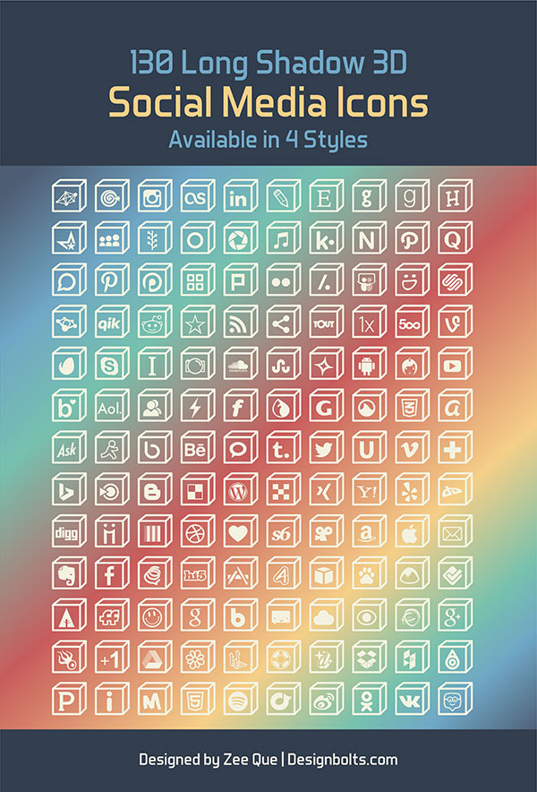 http://www.designbolts.com/wp-content/uploads/2014/05/130-Free-Long-Shadow-3D-Social-Media-Icons-PNG-Vector-Ai-04.jpg