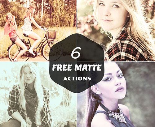 6 Free Matte photoshop Actions 100+ My Personal Favorite Free Photoshop Actions for Photo Effects