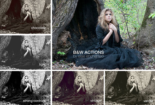 6 black white ps actions 100+ My Personal Favorite Free Photoshop Actions for Photo Effects