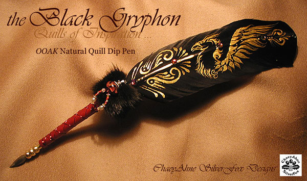 Black_Gryphon_Feather_Pen_by_ChaeyAhne