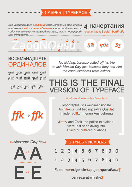 Casper-free-sans-serif-font