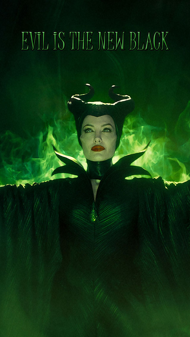 Evil-is-the-new-black-maleficent-iphone-wallpaper