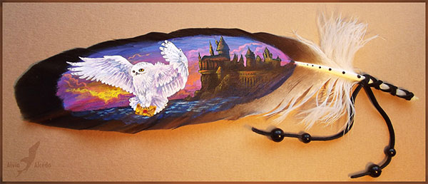 Feather-Paintings--A-Phenomenal-Art-(4)