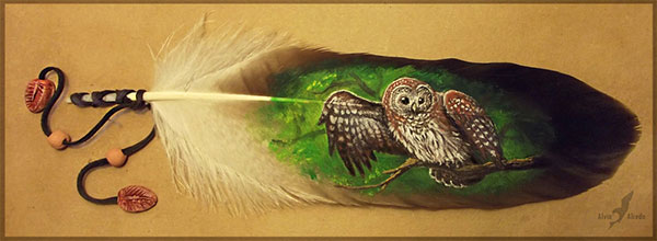 Feather-Paintings--A-Phenomenal-Art-(5)